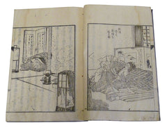 A 19th Century Illustrated Book: Published Advice from the Empress
