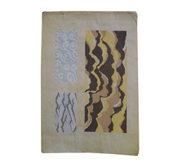 A 1902 Woodblock Print by Kamisaka Sekka #5: Water Patterns