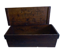 An Early 20th Century Carpenter's Box: Lovely Patina