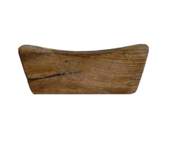 A Hand Hewn Wooden Pillow: Rural China