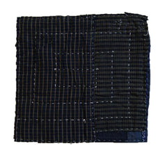A Boro Zokin: Pieced Sashiko Stitched Dust Rag