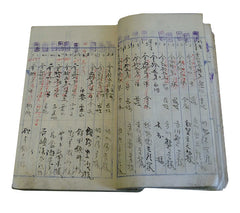 A Hand Written Accounting Ledger: Daifukucho
