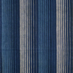 A Length of 19th Century Stripes: Allusion to Waterfall