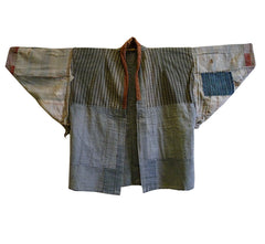 A Marvelous Boro Jacket: Edo Komon Cotton