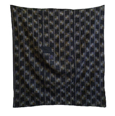 A Patched Kasuri Furoshiki: Mended Ikat Carrying Cloth
