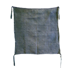 A Hand Stitched Korean Pojagi: Dyed Hemp or Ramie