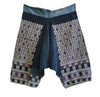 A Pair of Heavily Embroidered Cotton Trousers: Yao People