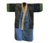 A Child's Boro Kimono: Pieced with Yellow Exterior