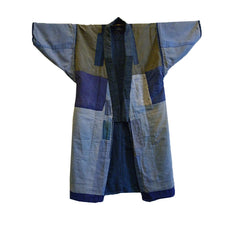 A Reversible and Pieced Boro Kimono: Wonderful Lining