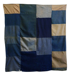 A Pieced Cotton Furoshiki: Geometric Abstraction