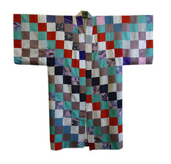 An Extremely Beautiful Piece Constructed Under Kimono: Silk Blocks