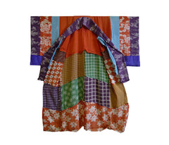 A Lightweight Silk Pieced Underkimono: Yose Juban