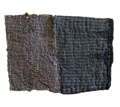 A Pair of Traditional Zokin: Flannel and Cotton