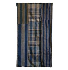 An Fullly Intact Futon Cover: Zanshi Ori and Stripes