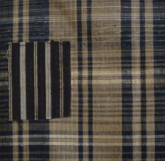 A Very Handsome and Complex Length of Zanshi ori: 1 1/2 Loom Widths