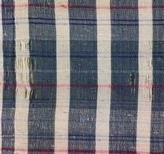 A Length of Zanshi Cloth: Cotton and Missing Weft Yarns