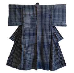 A Magnificent Zanshi-ori Yogi: Large Kimono Shaped Duvet