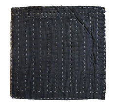 A Square Sashiko Zokin: Traditional Dustrag