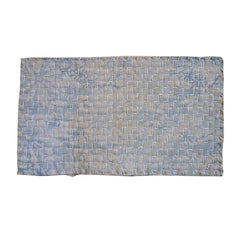 A Sashiko Stitched Figured Zokin: Mountain Pattern Stitching