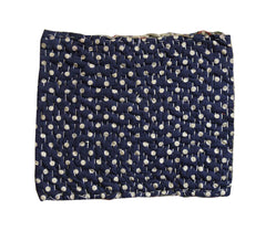 A Polka Dot Cotton Zokin: Stitching