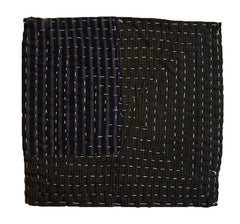 A Traditional Zokin: Large Patch and Sashiko Stitching