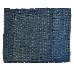 A Large and Layered Zokin: Indigo Dyed Cotton