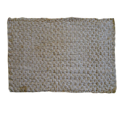 A Hemp Stitched Zokin: Traditional Dust Rag