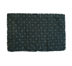 A Beautifully Sashiko Stitched Zokin: Delicate and Intense