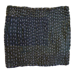 A Patched Boro Zokin: Sashiko Stitched Dust Rag