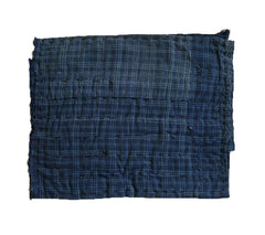 An Indigo Dyed Cotton Zokin: Lovely Old Cloth