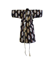 A Boy's Cotton Kimono: Targets and Arrow Feathers