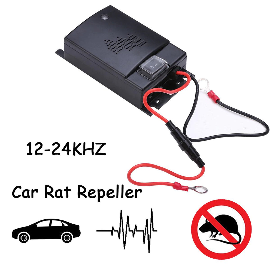 Explon Ultrasonic Car Repeller - Protect Your Car From Mice and Other Rodents.