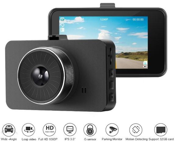 Explon Dash Camera - High Quality Full HD 1080P - G-Sensor - Motion Detection