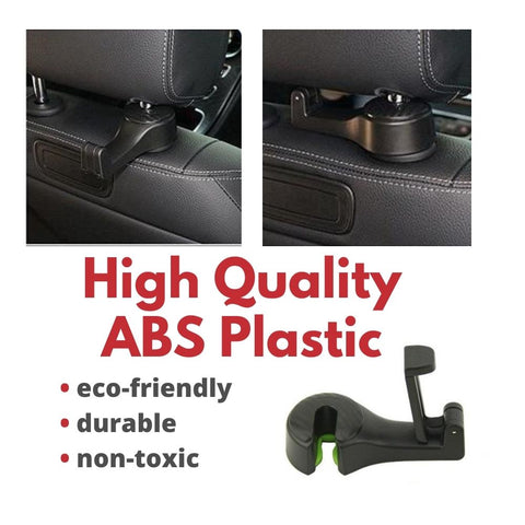 Car Seat Hook for Car 1 Unit - High Quality Back Seat Organizer Hanger Storage Hook Cellphone Holder