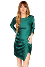 Load image into Gallery viewer, CATHERINE DRESS - EMERALD