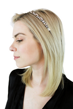 Load image into Gallery viewer, DIANA HEADBAND - SILVER