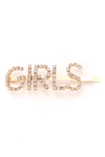 Load image into Gallery viewer, GIRLS HAIR CLIP - GOLD