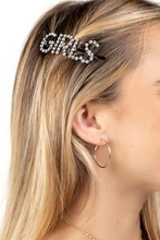 Load image into Gallery viewer, GIRLS HAIR CLIP - SILVER