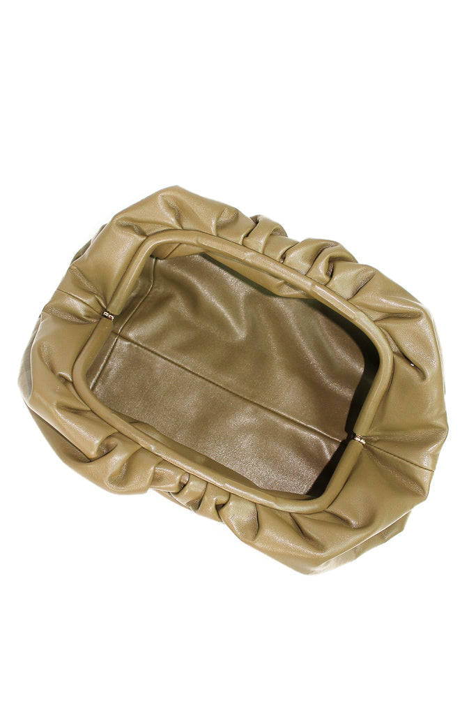 ANNABEL CLUTCH - OLIVE
