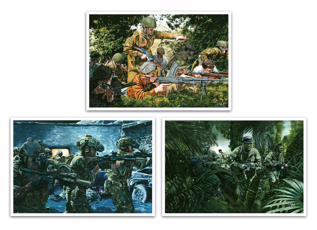 Army Special Forces Small Print Set