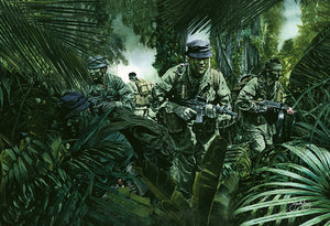 """Good in the Woods"" MACVSOG Giclee Print"