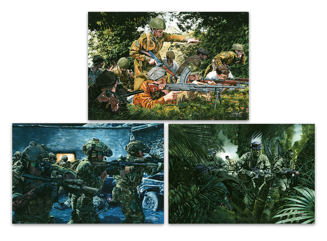Army Special Forces Giclee Series Set