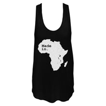 Load image into Gallery viewer, Unisex Made In Africa Tank Top