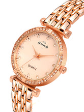 Load image into Gallery viewer, Duke Analog Rose Gold Wrist Watch for Woman and Girls- DK7007RW02C
