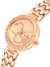 Load image into Gallery viewer, Duke Analog Rose Gold Metal Strap Wrist Watch for Woman and Girls- DK7003RW02C