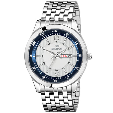 Duke Analog Stainless Steel Band,Quartz, Watch for Mens and Boys .
