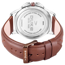 Load image into Gallery viewer, Duke Analog Day & Date Brown Watch with Leather Strap for Mens and Boys