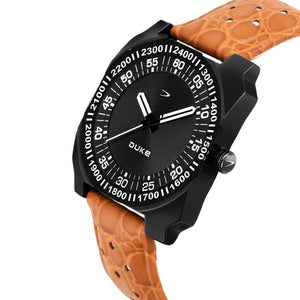 Duke Watch For Mens/Boys Casual Wear Watch with Leather Belt