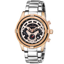 Load image into Gallery viewer, Duke Stainless Steel Strap Chronograph Rose Gold Men's Watch-(DK4003CRM02C)