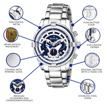 Load image into Gallery viewer, Duke Stainless Steel Strap Chronograph Men's Watch-(DK4004CRM02C)